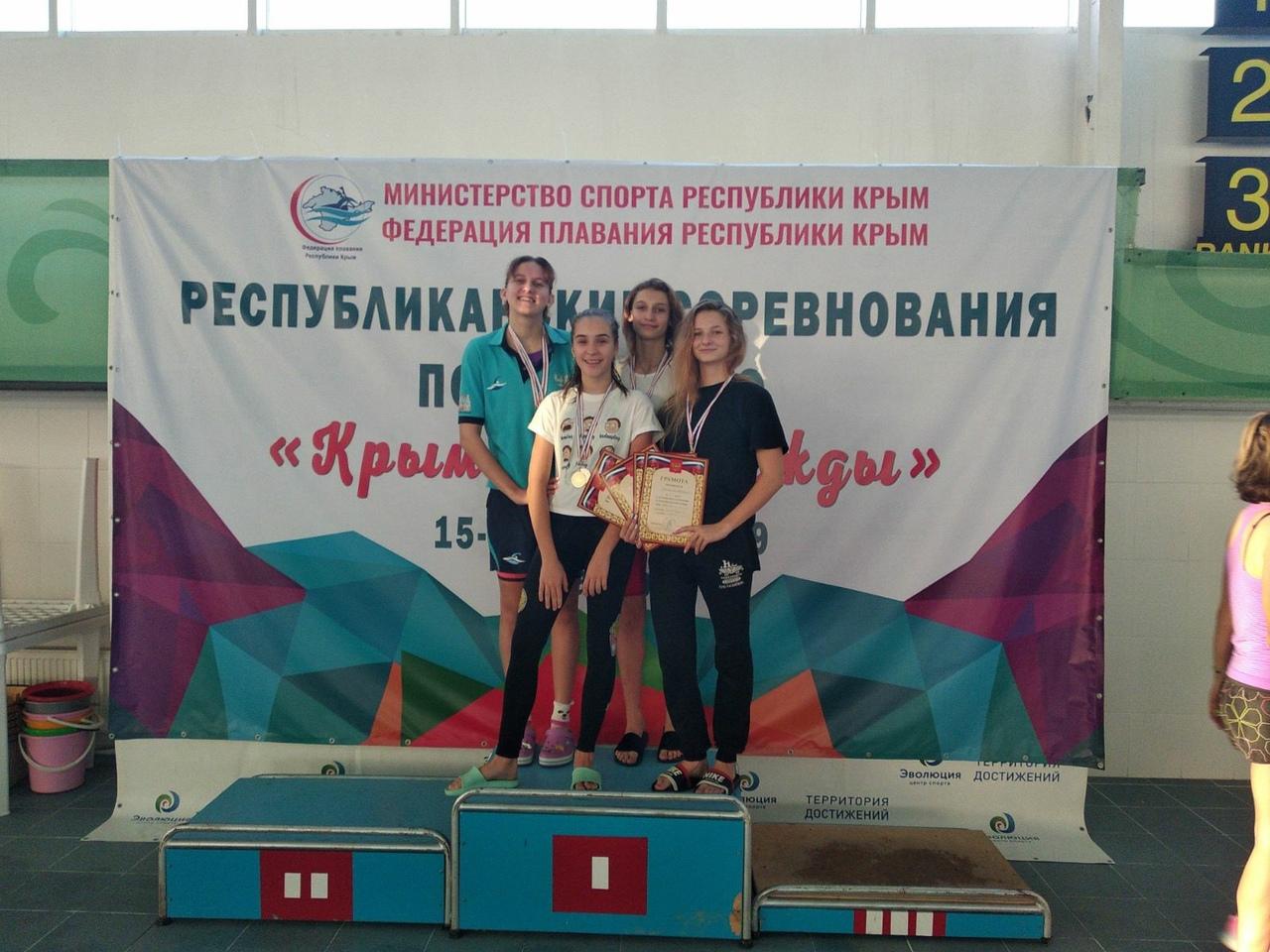 Наши пловцы – чемпионы и призеры «Крымских надежд»