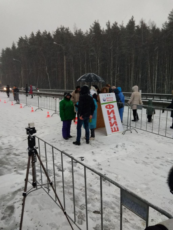 Наш легкоатлет – серебряный призер зимнего марафона в Санкт-Петербурге.