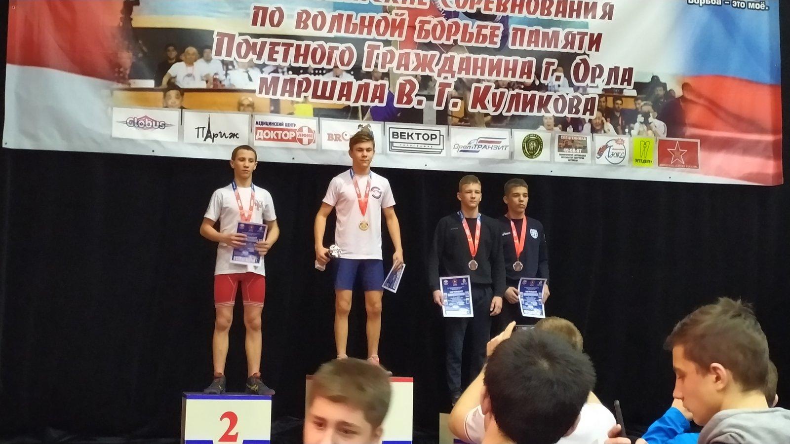 Наши борцы – чемпионы и призеры открытого Кубка города Орла