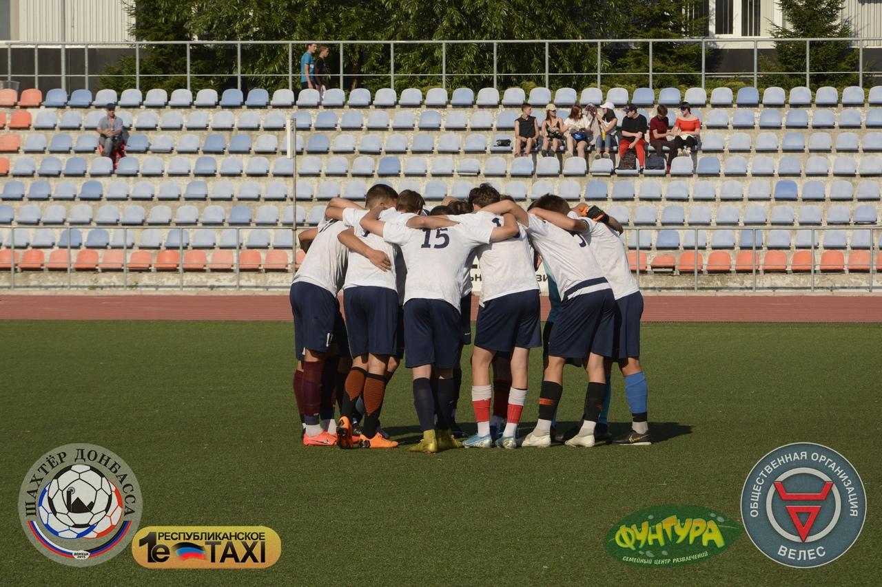 Наши футболисты выиграли первенство республики