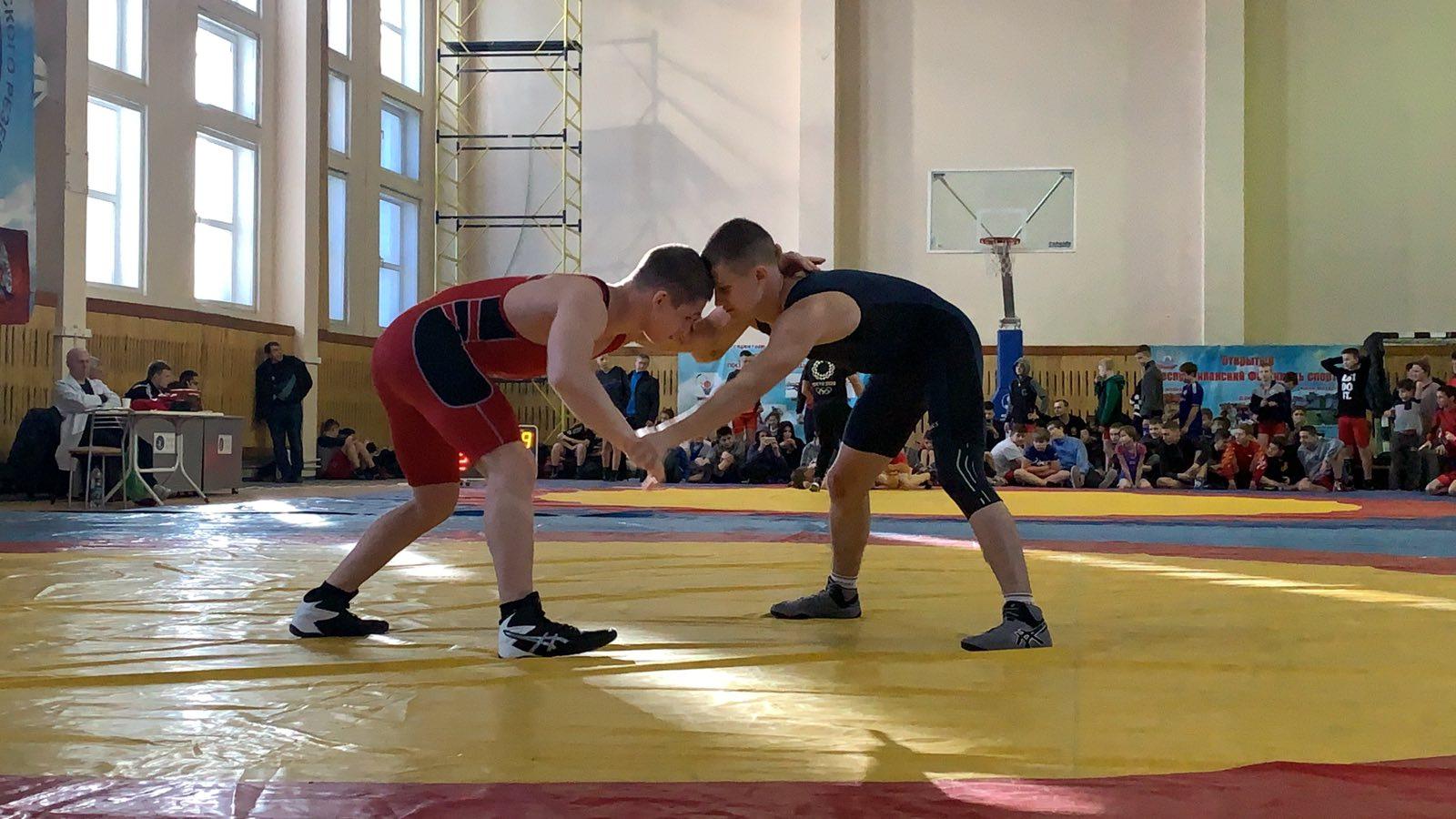 Первенство и Кубок ДНР по вольной борьбе